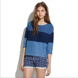 Madewell Indigo Ink Sweatshirt